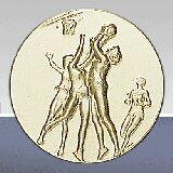 Вставки для медалей и кубков La Fete Du Sport B254 ж.баскетбол