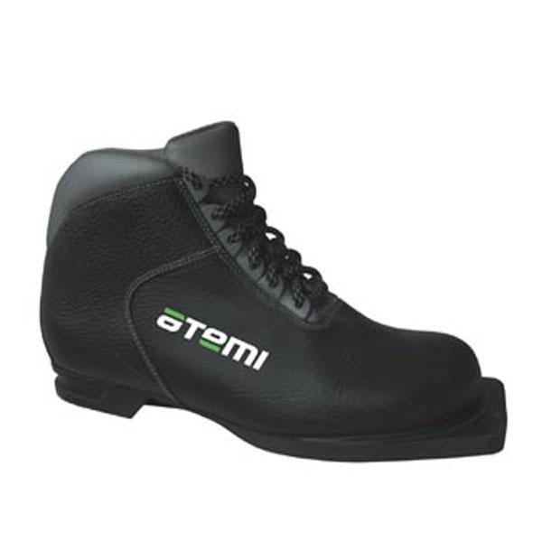 Ботинки лыжные атеми а230 junior черн. р-р 36.