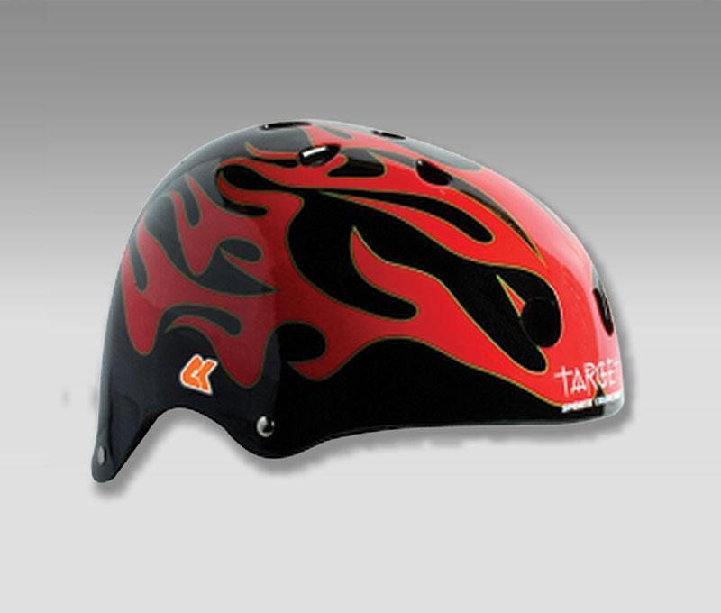 Шлемы для роллеров CK Black Flame