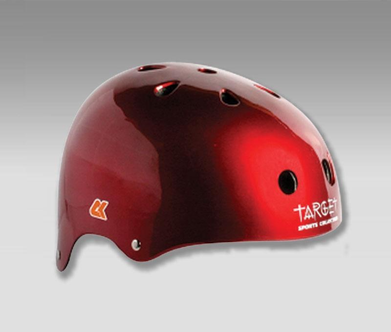 Шлемы для роллеров CK Metallic Red