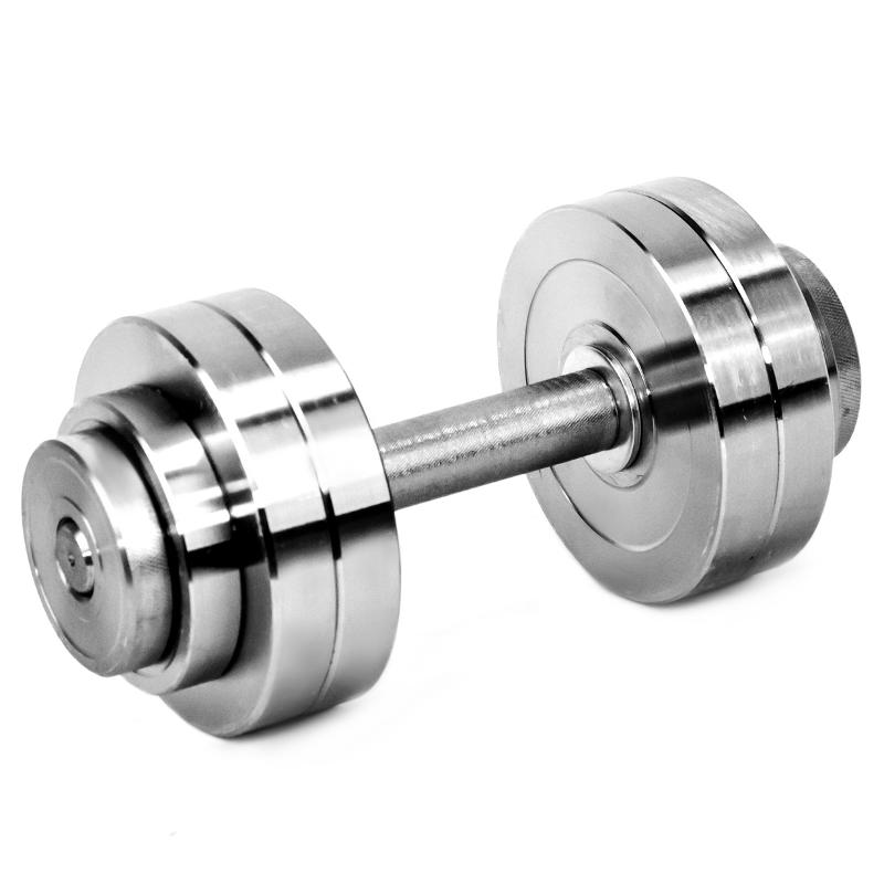 Гантель металлическая разборная АТЛАНТ 14 кг