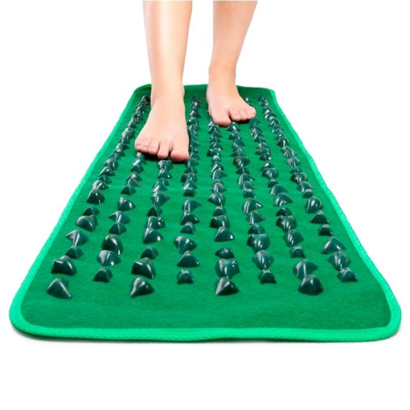 Массажный коврик для ног с камнями своими руками