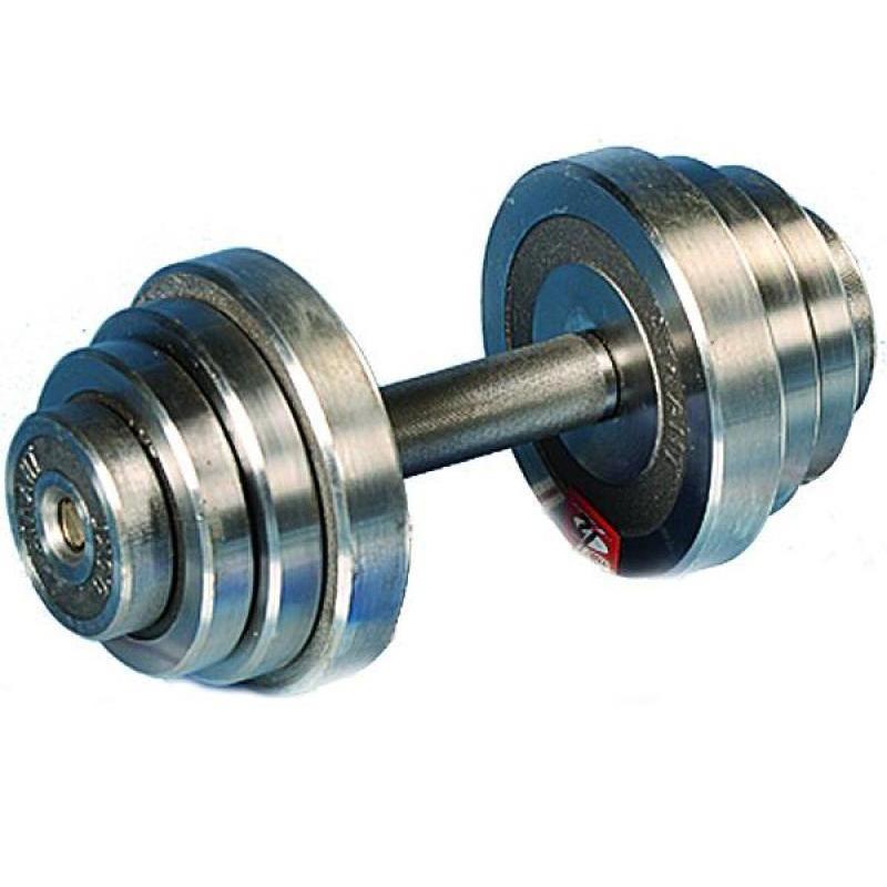 Гантель металлическая разборная АТЛАНТ 12 кг