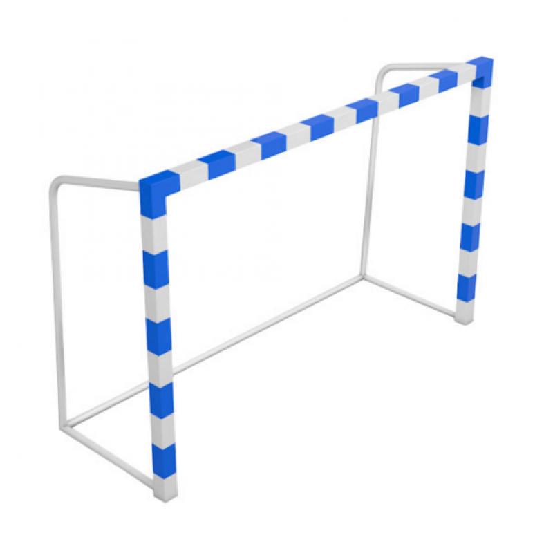 Ворота для мини-футбола и гандбола  300 х 200 х 130 см рама 80 мм