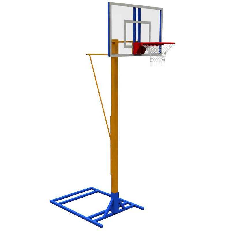 Стойка под баскетбольное кольцо своими руками 28