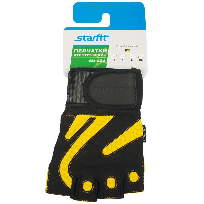 8d33fe0e7064 Перчатки атлетические STARFIT SU-121