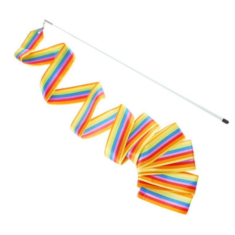 Лента на палочке для гимнастики