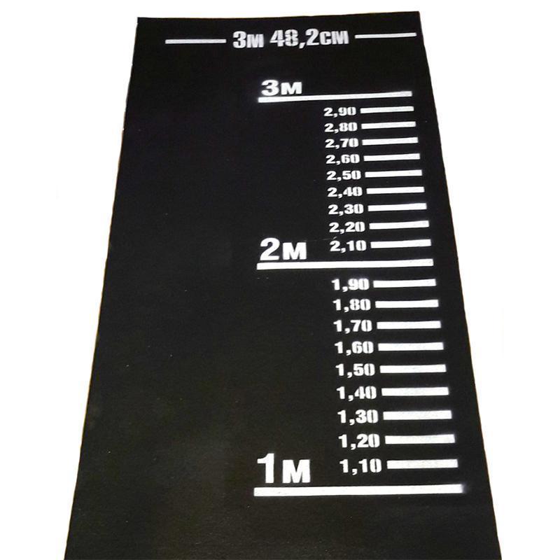 Дорожка (разметка) для прыжков в длину с места АТ (черная)