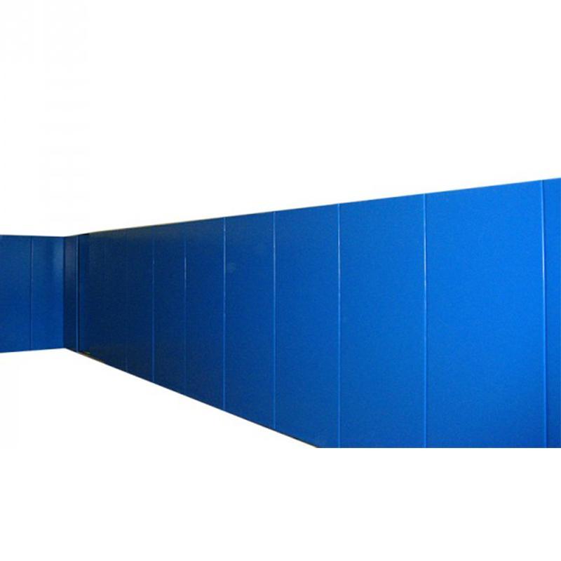 Стеновой протектор 2,2х10 м, толщина 40 мм на жесткой основе