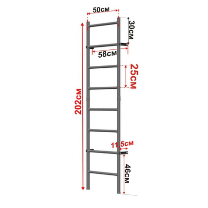 Как сделать шведскую стенку из металла 801