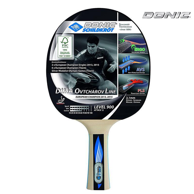 Ракетка для настольного тенниса DONIC Ovtcharov 900 8bf8003cbb9f4