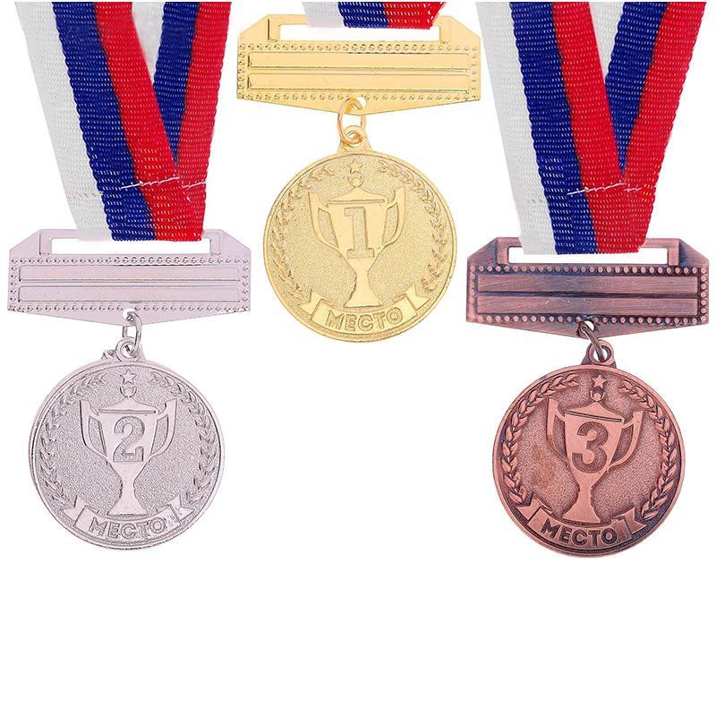 Медаль 3,5 см SL 070 призовая (с лентой)