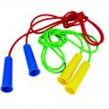 Скакалка цветная с резиновым шнуром 3,8 м