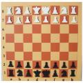 Шахматы настенные с фигурами 810х810 см