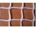 Сетка гашения для хоккейных ворот Стандарт 060735 (белая нить 4 мм)