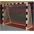 Сетка для хоккейных ворот (хоккей с мячом) Стандарт (белая нить 4 мм)