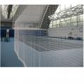 Заградительная (защитная) сетка для спортзалов и  спортплощадок Стандарт, нить - 2,6мм арт.10026, ячейка 100x100 мм