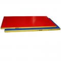 Мат гимнастический 200 х 100 х 8 см (цветной, чехол тент, наполнитель поролон)