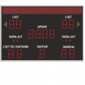 Табло для волейбола ТВ150 (2000х1000)