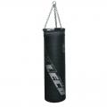 Мешок боксерский ЛЕКО ЭЛИТ 90 см, диаметр 25 см, вес 40 кг, кожа