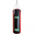 Мешок боксерский GREEN HILL PBS 120 см, диаметр 35 см, нат кожа 2 категории