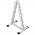 Стойка для гантелей АТЛАНТ АС-10 фигурная пирамида на 10 позиций