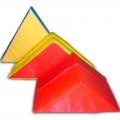 Треугольник 90х90х14 см (поролон, винилискожа)