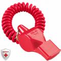 Свисток для спасателей FOX 40 Pearl с flex браслетом без шарика пластиковый