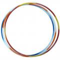 Обруч стальной гимнастический d 900мм, вес 900 г, разноцветный