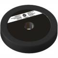Диск пластиково-металлический 2,5 кг черный диаметр 25 мм