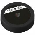 Диск пластиково-металлический 5 кг черный диаметр 25 мм