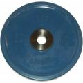 Диск обрезиненный цветной олимпийский MB Barbell Евро-классик вес 20 кг диаметр 51 мм