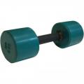 Гантель фитнес цветная обрезиненная 6 кг
