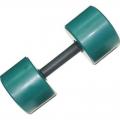 Гантель фитнес цветная обрезиненная 8 кг