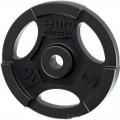 Диск чугунный окрашенный EURO-CLASSIC с хватами 5 кг диаметр 26 мм