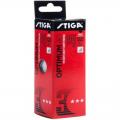 Мячи теннисные пластиковые Stiga Optimum 40+ (белый (3 шт.)