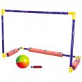 Набор для игры в водное поло SD (ворота, мяч, насос)