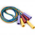 Скакалка цветная с резиновым шнуром 3 м