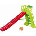 Детская горка Каскад + баскетбольное кольцо SL-11