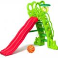Детская горка Горошина + баскетбольное кольцо SL-16