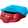 Детская песочница-бассейн Собачка с покрытием