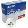 Мячи для настольного тенниса NEOTTEC Neoplast Training (6 шт.)