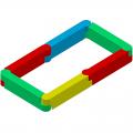 Детская пластиковая песочница ЭКП Прямоугольник