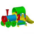 Детский игровой комплекс ЭКП Паровозик
