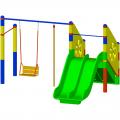 Детский игровой комплекс ЭКП К 004ф