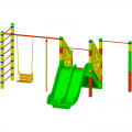 Детский игровой комплекс ЭКП К 005ф