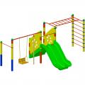 Детский игровой комплекс ЭКП К 006ф