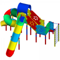 Детский игровой комплекс ЭПК КТ 18ф