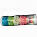 Набор пластиковых воланов в тубе HS-004 (4 шт.)