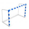 Ворота для мини-футбола с противовесом 300 х 200 х 130 см рама 80 мм